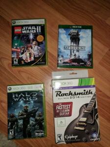 Misc Xbox 360 and Xbox One Games