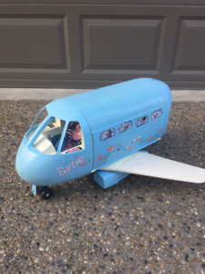 Vintage Barbie Jumbo Jet Airplane