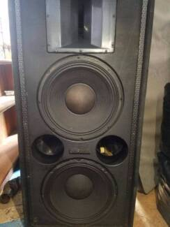 4 x Electro Voice dual 15 and horn cabinets