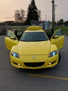 Rare 2004 Mazda RX8.  Daily Driver