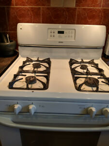 Gas Stove - White