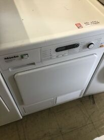 Miele 8kg heat pump Condenser tumble dryer