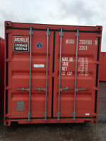 Premium Used Shipping Containers for Sale in Kitchener
