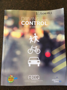 Quebec Driving Book english version 5