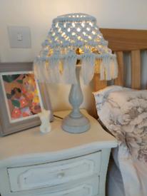 Lovely Handmade macrame lamp