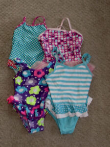 Girls Bathing Suits - Size 3