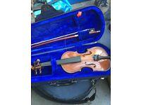 Stentor 1/16 violin in case good condition