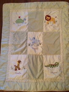 Crib comforter set with Mobile