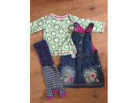 Baby girl outfit and trouser bundle