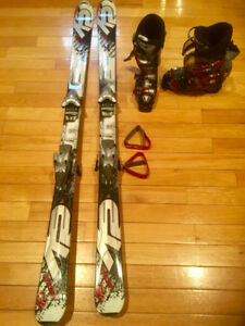 Men's Skis $ Boots worn only 3 times! Size 9 reduced