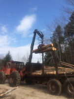 350 Timberjack Porter with Boogie Trailer