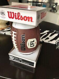 Autographed CFL Football