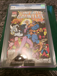 The Infinity  Gauntlet  #6 of 6 CGC 9.4