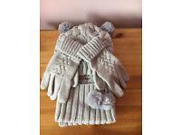 Mayoral Girls Hat/Scarf/Gloves Set