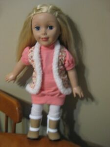 "18"" DOLL PARADISE KIDS LILI LIKE AMERICAN GIRL DOLLS"