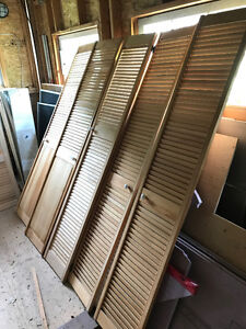 Pine Louvered Doors