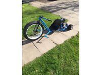 American style 200cc drift trike