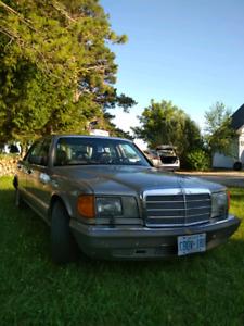 1987 Mercedes Benz 300SDL (Turbo Diesel)