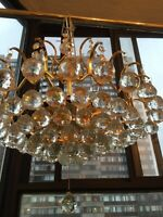Various chandeliers for sale