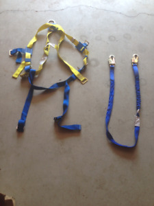 Safety Harnesses & Shock Absorbing Lanyards -- HALF OFF!!