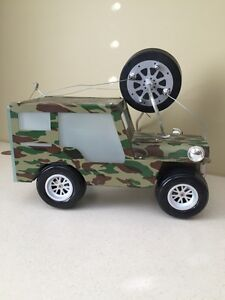 Army jeep bedroom light
