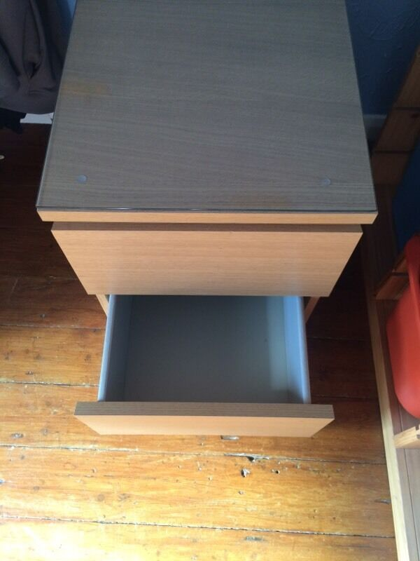 1 X Ikea Malm 2 Drawer Unit In Oxford Oxfordshire Gumtree