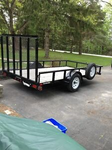 BIG TEX LANDSCAPING TRAILER