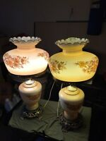 2 Lovely Antique Style Lamps