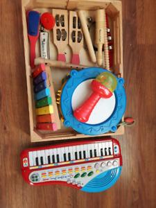 Kid musical instruments
