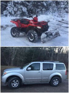 2 FOR 1 TRADE - 2012 King Quad 500 & 2007 Nissan Pathfinder