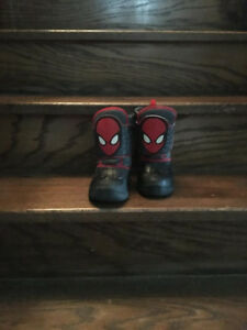 LIKE NEW! Spider man Marvel Boots Size 8