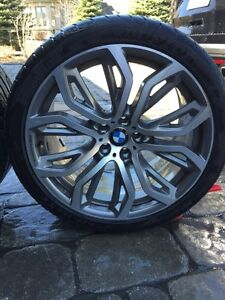 Bmw x6 5.0L mags and rims for sale.