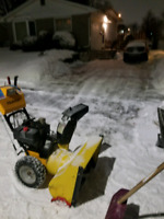 Snow removal Kingston competative prices!