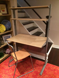 Student desk and chair, perfect condition