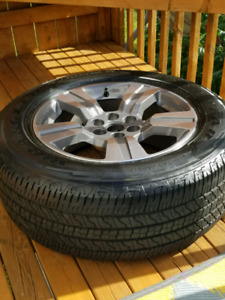 "265/60R 18"" Tires and Rims"