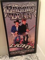 brooks and dunn hard copy signed poster