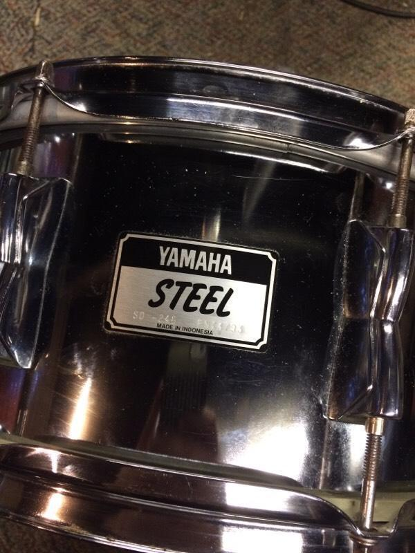 Yamaha steel snare drum in Wolverhampton West Midlands  : 86 from www.gumtree.com size 600 x 800 jpeg 70kB