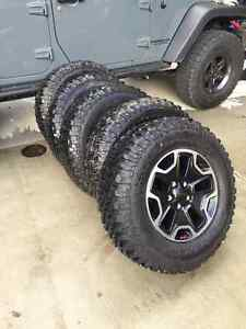 2014 Jeep Rubicon tires and rims