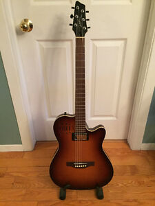 GUITARE GODIN A6 ULTRA COGNAC BURST (ÉCHANGE POSSIBLE)