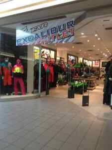 Excalibur Outlet now Open Intercity Mall