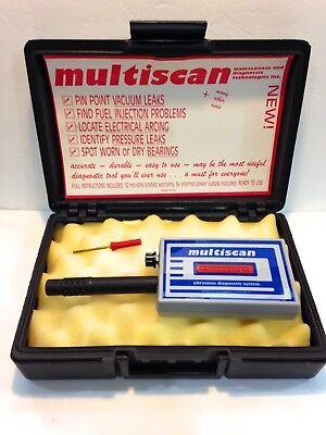 Multiscan Ultrasonic Leak Detector For Automotive Diagnostic Testing Wcase