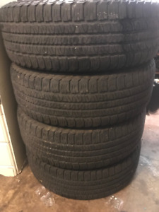 4 All Season Goodyear Fortera Tires P255/65R18