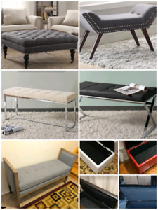 All brand new furniture. In boxes $100-$350