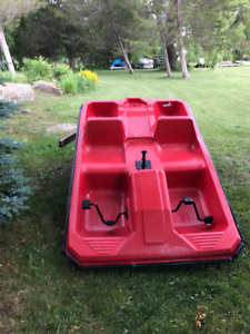 mint shape very little use paddle boat $250