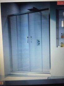 4 door enclosed shower (sovereign showers)