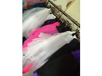 Job lot tutu skirts Harleyavenue mixed styles 25 items £50 new resale
