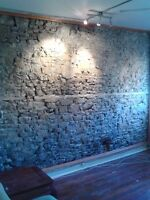 2 Bedroom Downtown stone walled Loft