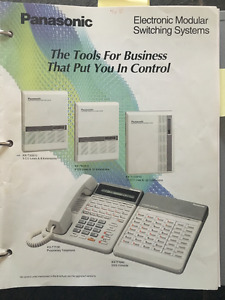 Business Phone System with 5 phones