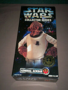 STAR WARS 12 inch ADMIRAL ACKBAR ACTION FIGURE MIB KENNER 1996