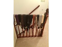 Bundle of ladies belts, including River Island, Oasis, Topshop and leather, size small
